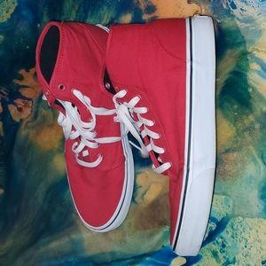 Vans unisex high top skate shoe